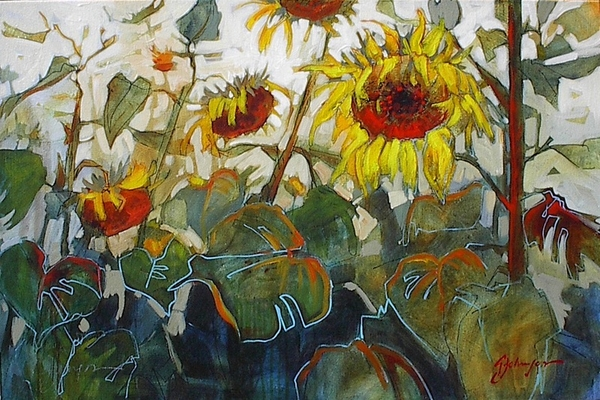 Gail z Johnson Sunlight in the Garden