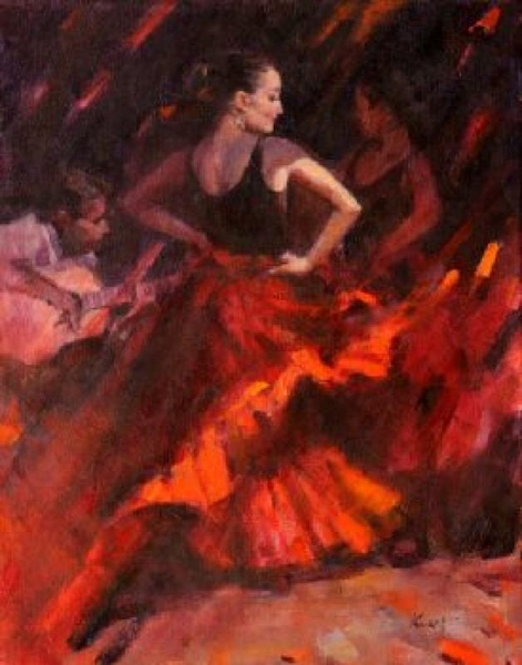 Clement z Kwan Flamenco Red