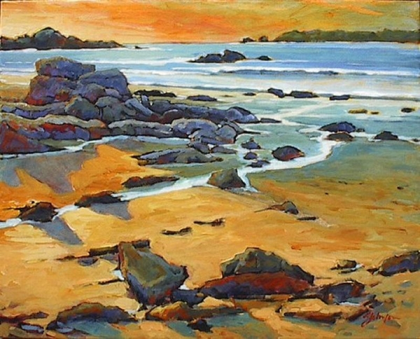 Gail z Johnson Brady's Beach Shadows