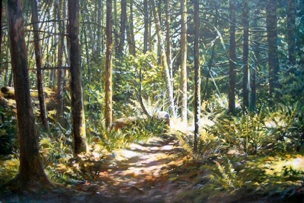 Janice z Robertson Deep in The Woods