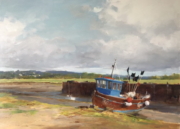 Along A Tidal River by Deborah Tilby