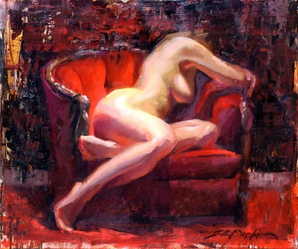 Scarlet Chair by Jerry Markham