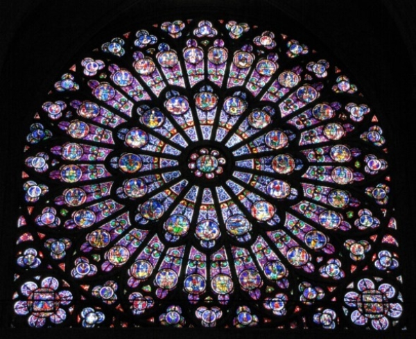 Notre Dame- Rose Sud by Monica Reekie