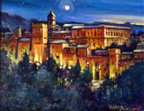 Richard z McDiarmid Moonlight Over Granada
