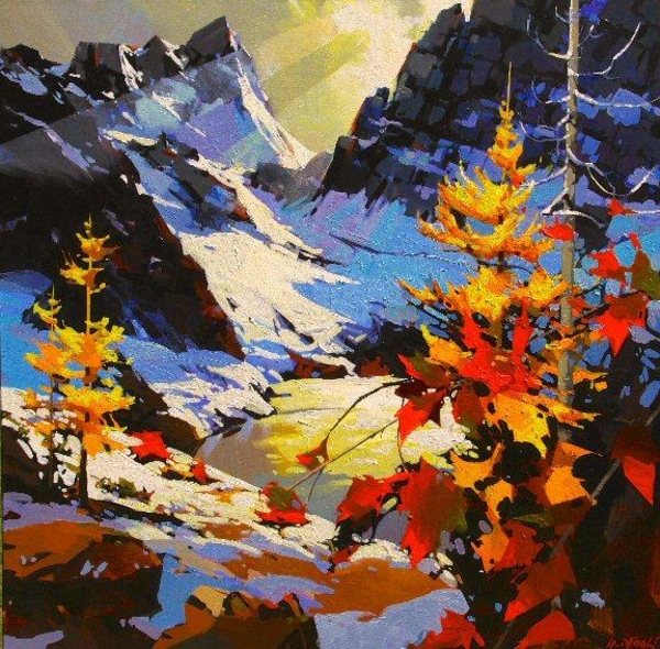 Michael z O'Toole Ray Of Light - The Bugaboos