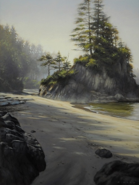 Ray Ward Bamfield Sea Stack