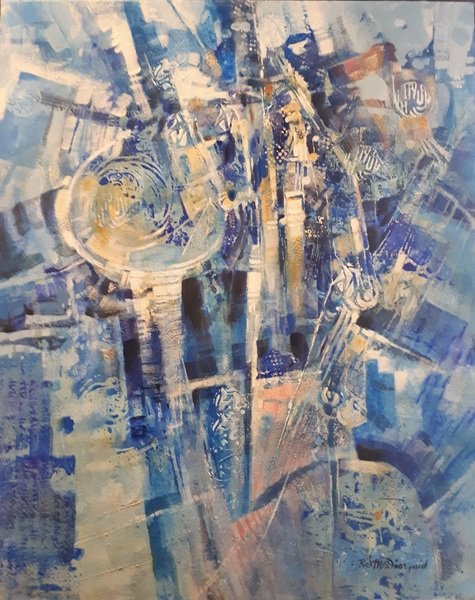 All That Jazz Abstract by Richard McDiarmid