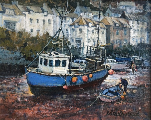 Richard McDiarmid Low Tide - Cornwall