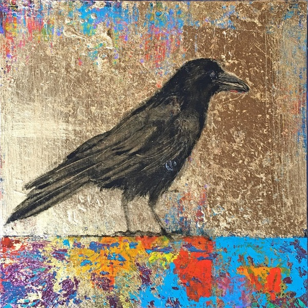 Sheila Mather Carnival Crow