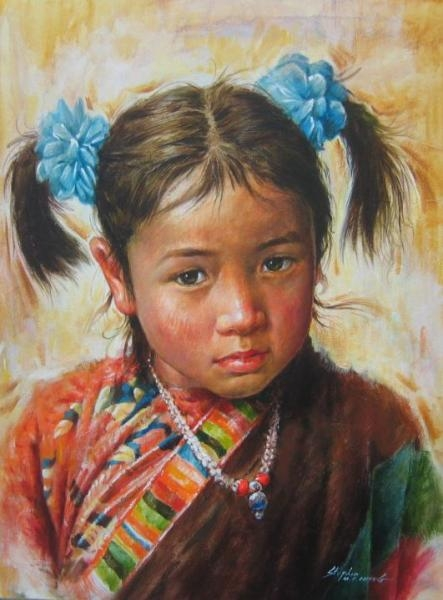 Stephen z Cheng Girl from Lhasa