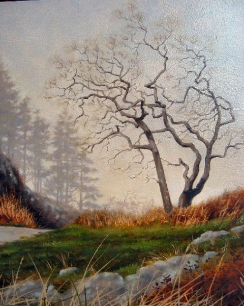 Ray z Ward Winter Fog - Garry Oak