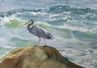 Sheena Lott Heron Against The Waves