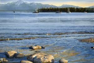 Carol Evans Rocks in the Ripples - Tribune Bay, Hornby Island