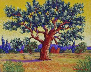 Michael z Stockdale The Olive Tree
