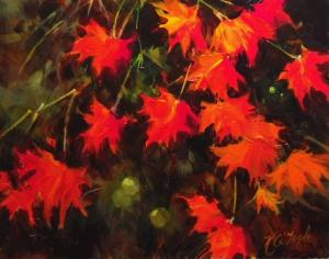 Nancy O'Toole Autumns Red