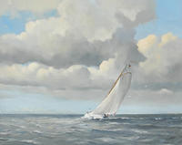 Pieter Molenaar Skimming the Waves
