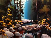 Michael z O'Toole Soft Light of the Canyon - Lynn Valley